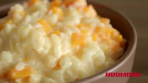 рецепт рисовой каши с яблоками в мультиварке редмонд