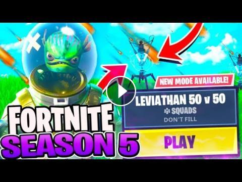 fortnite season 5 leaks today we discuss the new ltm game modes coming soon the new impulse trap potential themes and leviathan related stuff we - fortnite new game mode season 5