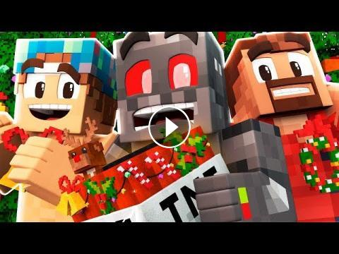 Minecraft Holiday TNT Games Funny Moments - Minecraft tnt spiele